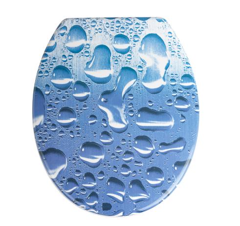 Asiento inodoro agua