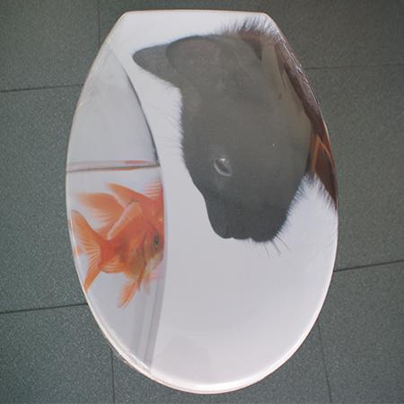 Tapa wc gato-pez