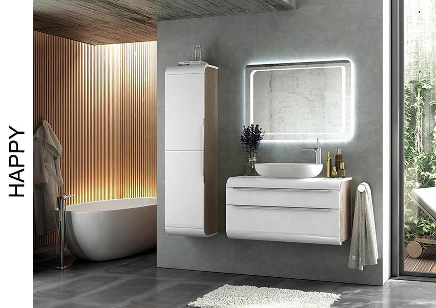 Muebles de baño happy