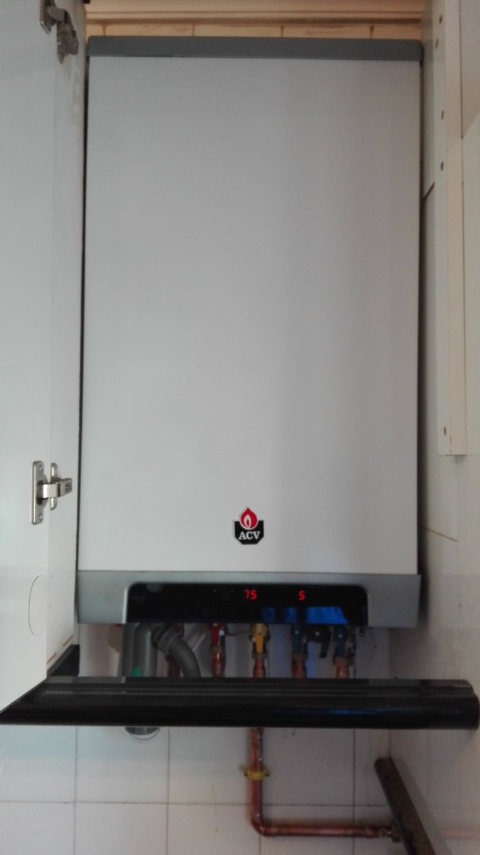 cambio de caldera de condensacion de gas